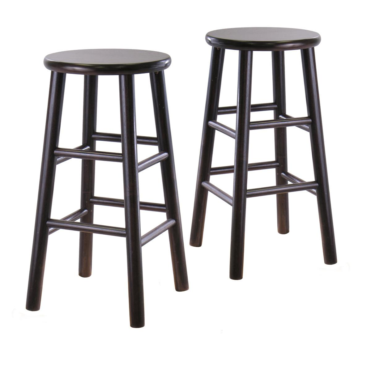 Amazon Com Winsome 92784 Tabby Stool Espresso Kitchen