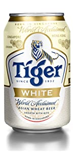 Tiger White Lager Beer