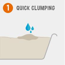 Garfield Cat Litter; quick clumping; easy scoop; natural cat litter