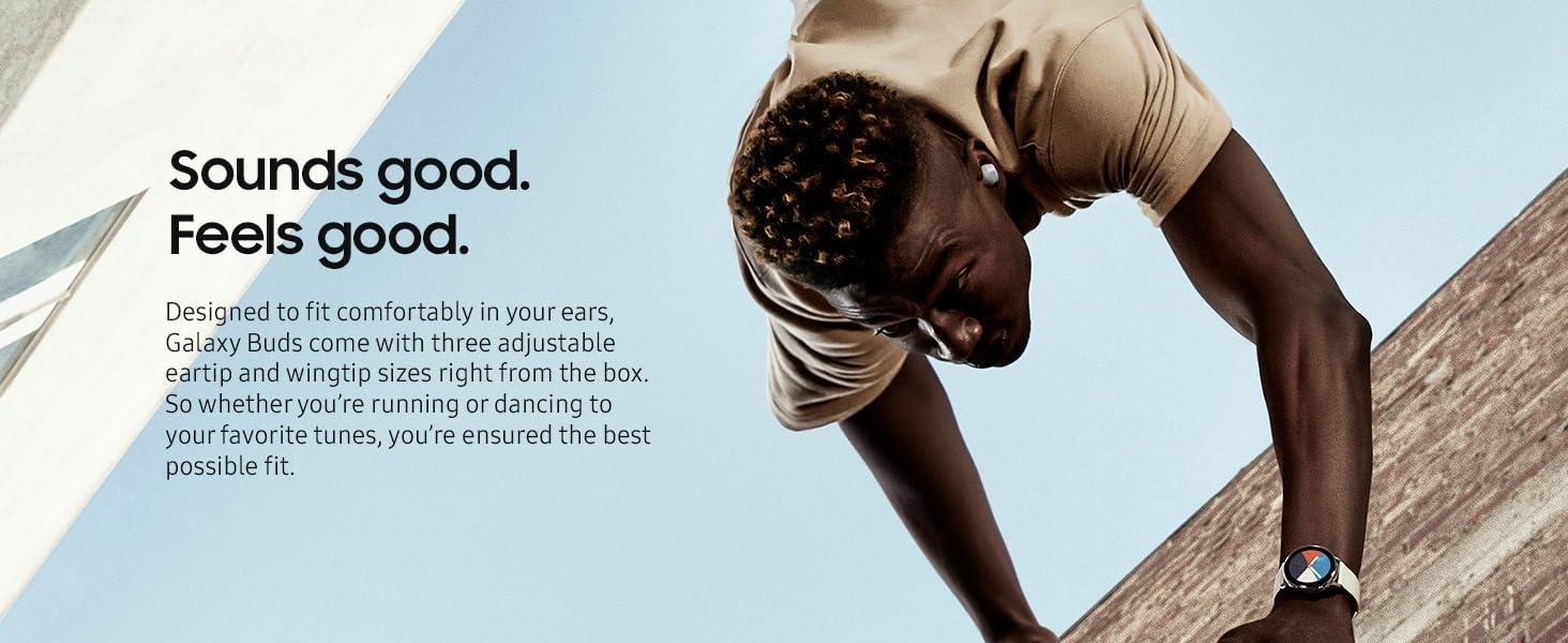 Samsung Galaxy Buds - Sound good. Feels good. Image