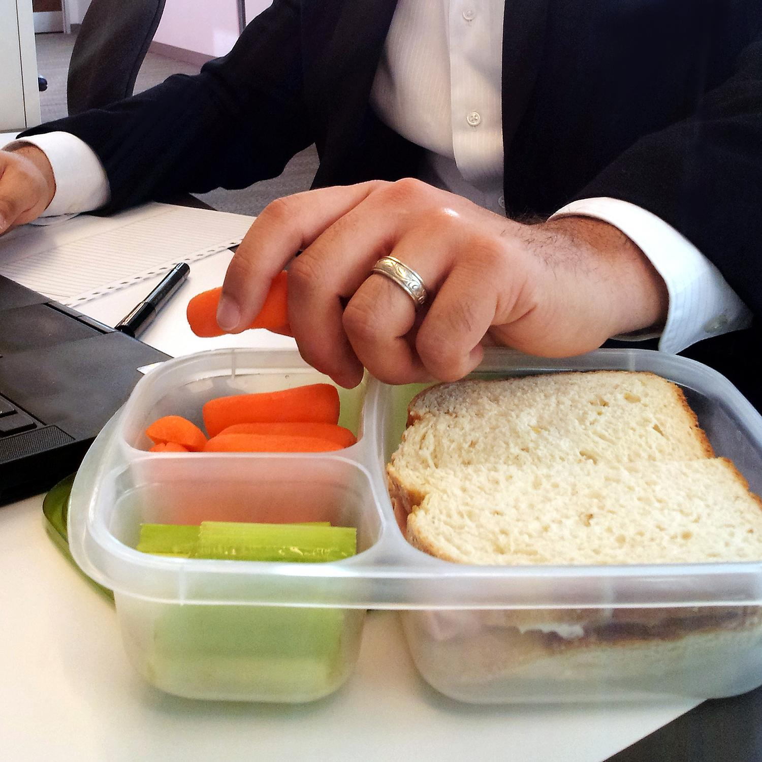 Amazon.com: EasyLunchboxes 3-Compartment Bento Lunch Box
