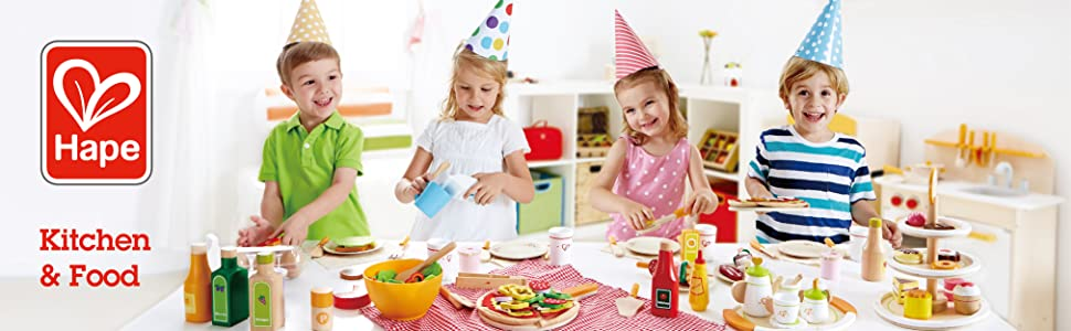 Hape Toys, Toys, Play, Wood, Kids, Preschool, Toddler, Baby, Role Play, Kitchen Food, Drink, Chef