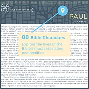 People in the Bible, Characters in the Bible, Who is Paul, Who was in the Bible