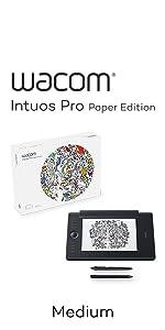Intuos Pro M, Paper