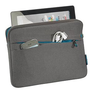 Pedea Tablet Pc Tasche Fashion Für 12 9 Zoll 32 8 Cm Schutzhülle Etui Case Mit Zubehörfach Grau Elektronik