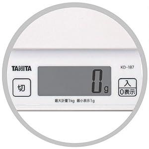 タニタ デジタルクッキングスケール