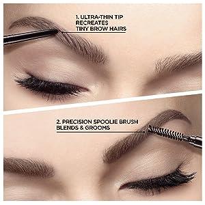 anastasia brow wiz, brow pencil, eyebrow makeup, retractable pencil, loreal paris, best brow makeup