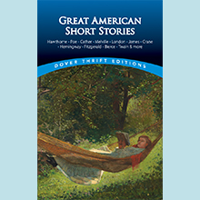 Short Stories, Twain, Poe, Hemingway, London, Hawthorne, Melville