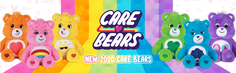 header all 6 care bears