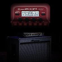 Zoom B1X FOUR Bass Guitar Multi-Effects Processor 11