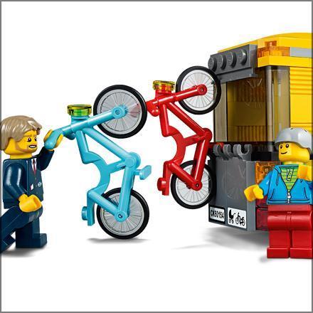 lego city la gare routi re 60154 jeu de construction lego jeux et jouets. Black Bedroom Furniture Sets. Home Design Ideas