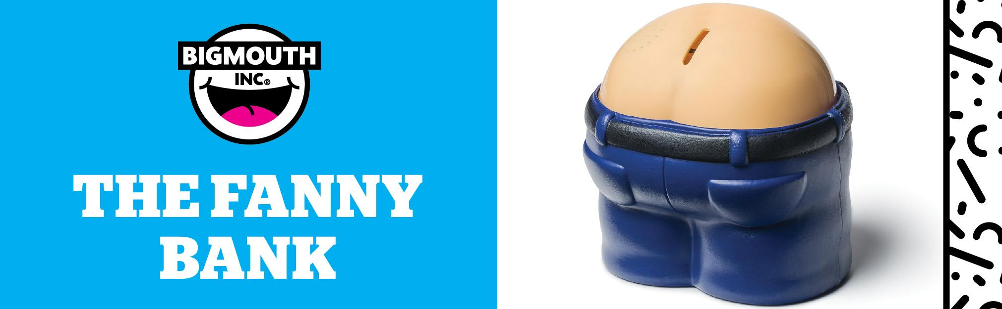 Bigmouth inc fanny bank funny farting bank makes noise funny gag gift home kitchen - Farting piggy bank ...