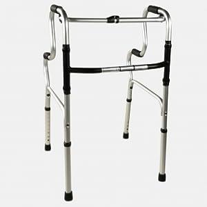 Andador para ancianos, Aluminio, Plegable, Sin ruedas, Pórtico, Mobiclinic