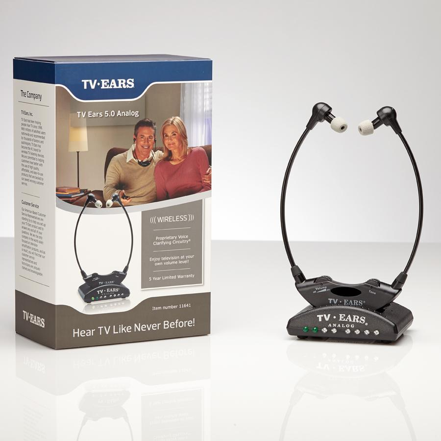 Amazon.com: TV Ears Original Wireless Headsets System, TV