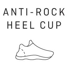 Anti-Rock Heel Cup