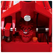 Torin BIG RED Pro Series Hydraulic Floor Jack with Quick Lift Pump and Foot Pedal, 3.5 Ton Capacity