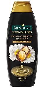 Palmolive Luminous Oils Moroccan Argan Oil & Camellia Shampoo