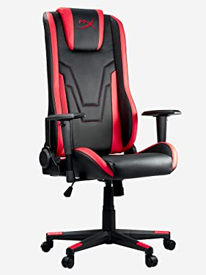 HyperX Commando +A Gaming Chair, PU Leather, Medium: Amazon