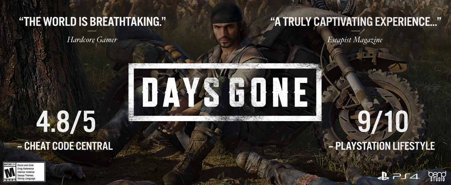 Amazon com: Days Gone - Playstation 4: Sony Interactive