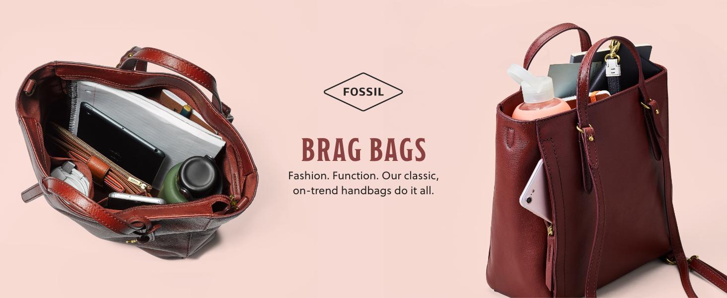 fossil women's leather, women's handbag purse, women's wallet