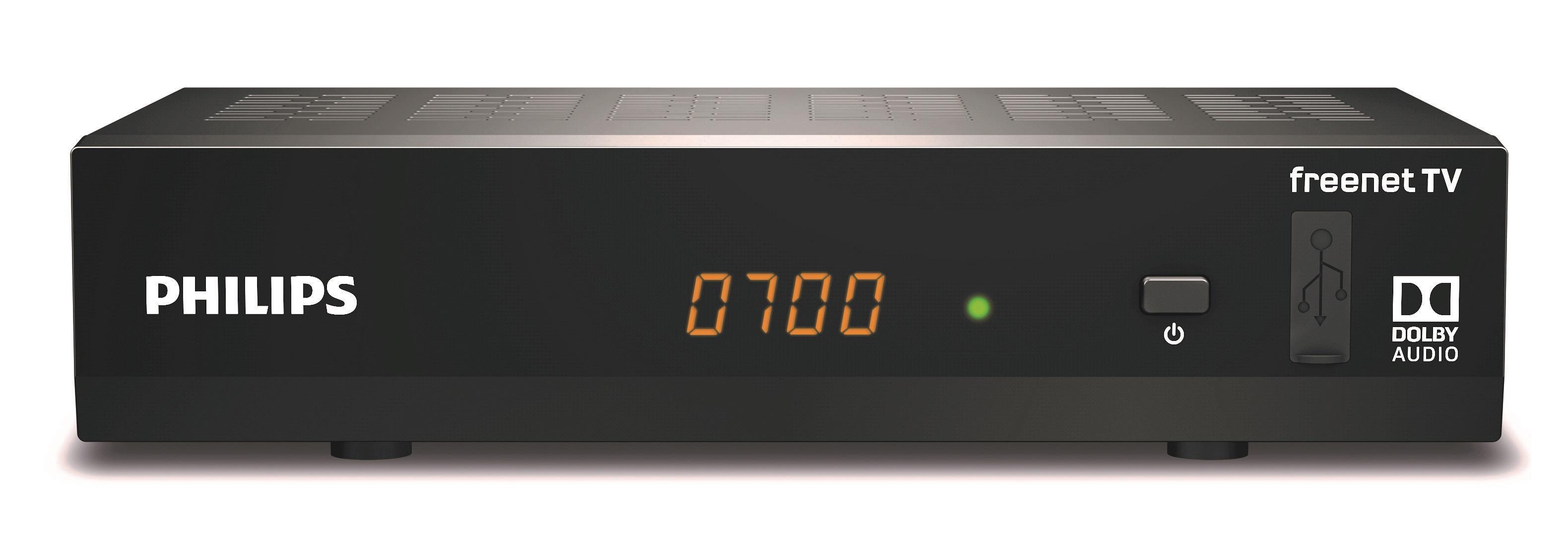 philips dtr3502b digitaler dvb t2 full hd receiver. Black Bedroom Furniture Sets. Home Design Ideas