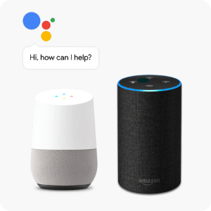 Works with the Google Assistant and Alexa