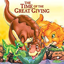 land before time, time of the great giving, little foot, dinosaurs, movies, dvd, family, kids, box