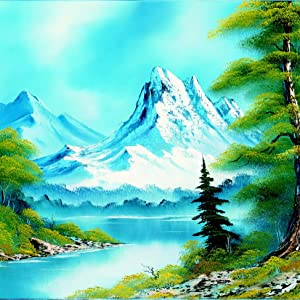 Painting With Bob Ross Landscape Graceful Mountain