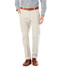 Signature Khaki Lux Cotton Stretch Straight Fit