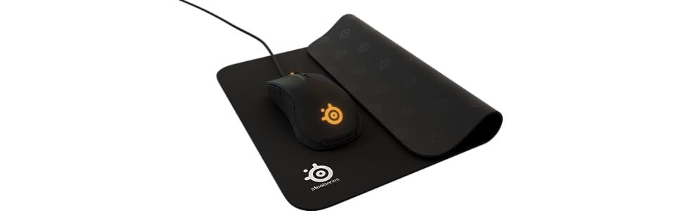 QcK+ gaming mousepad, gaming mouse pad