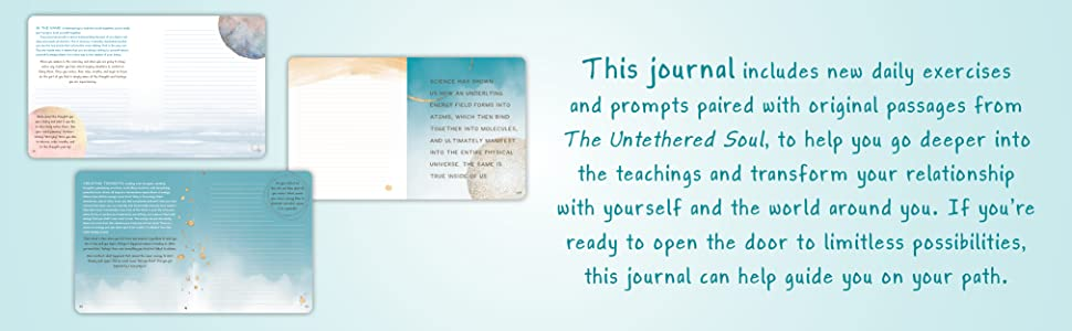 Includes new daily exercises and prompts paired with original passages from The Untethered Soul.