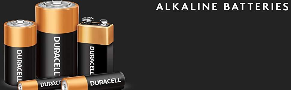 Duracell Alkaline Batteries AA, AAA, C, D, 9V
