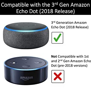 Compatible with Amazon Echo Dot