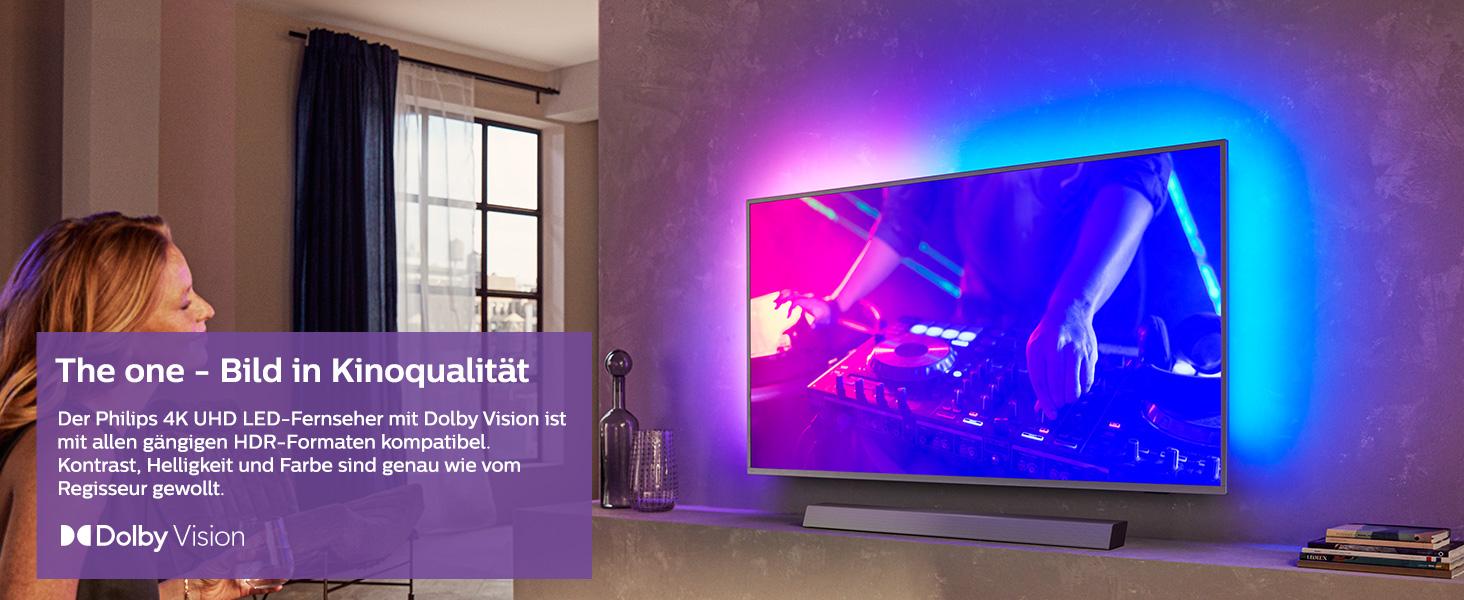 Philips Ambilight 58PUS8505/12 58-Zoll LED TV (4K UHD, P5