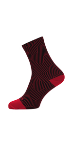 GORE BIKE WEAR FESPED Gore Selected Fabrics SPEED Mid Calzini Ciclismo Unisex Media lunghezza