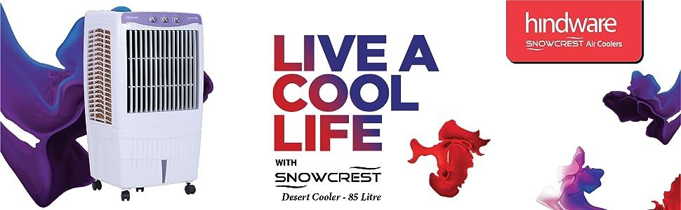 Hindware 200 Snowcrest 85 H Desert CD-168501HLA 85-Litre Air