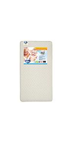 delta children curb toddler mattress innerspring safe sleep