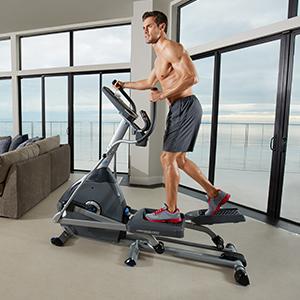 Nautilus, Natilus, Nautlis, Elliptical, Trainer, Training, E614, Home, Fitness, Drive System