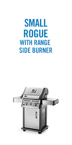 Napoleon Rogue 365 Propane Gas Grill with Range Side Burner - R365SBPSS