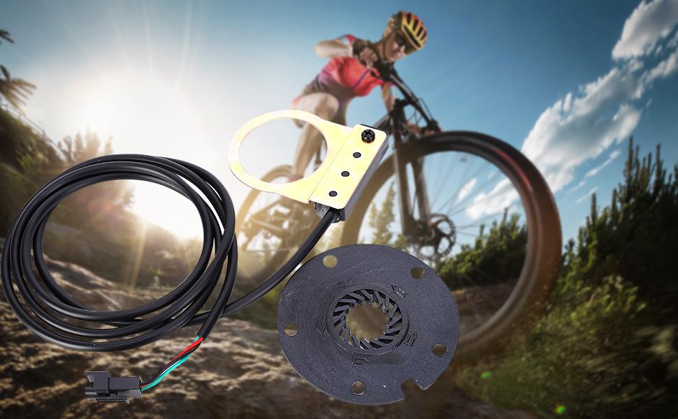 Accesorio el/éctrico de Ciclismo de Acero para Bicicleta de Pedales de Potencia y Pedales de Velocidad VGEBY1 Sensor de Asistencia de Pedal para Bicicleta