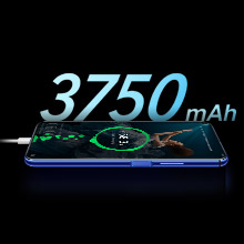 3,750mAh with 22.5W HONOR SuperCharge