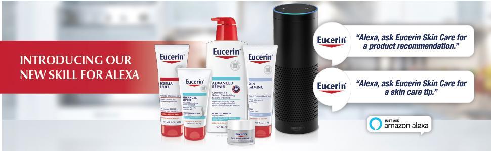 Eucerin Alexa Skill Ask Alexa Ask Eucerin Echo Dot Show
