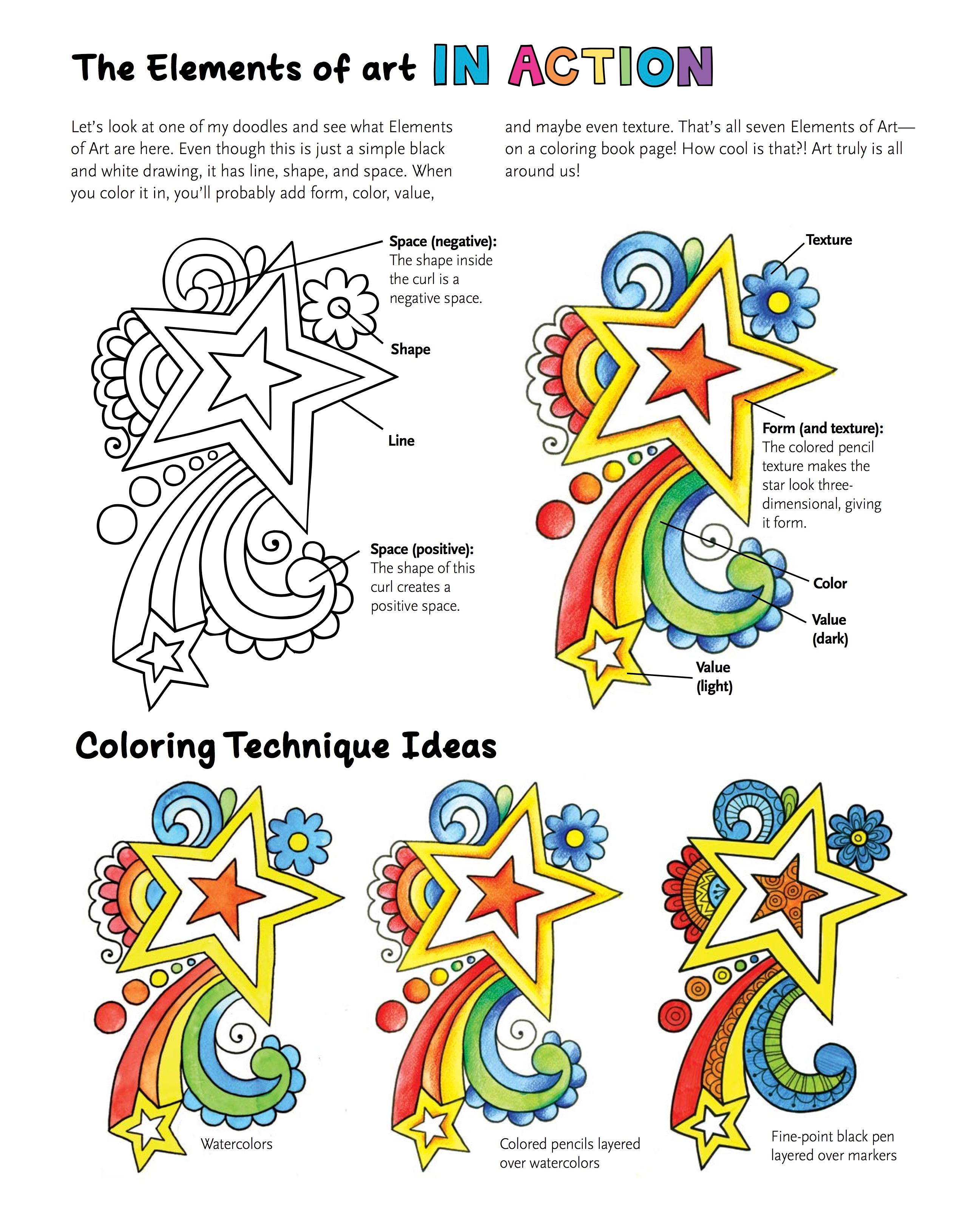 Amazon Notebook Doodles Super Cute Coloring Activity Book