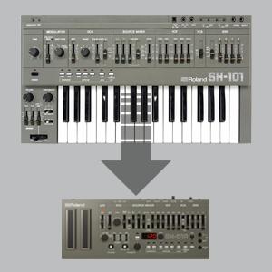roland, 101, SH-101A, SH-01A, retro, synth,