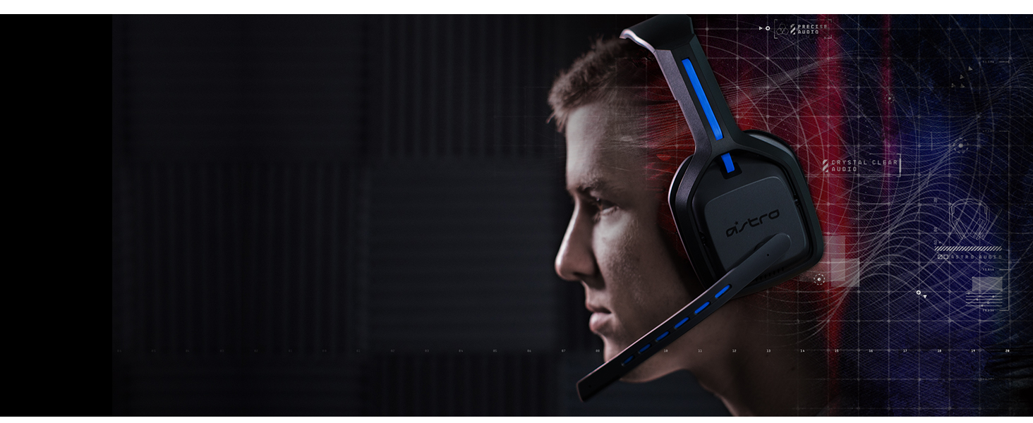 ASTRO A20 Wireless Gaming Headset