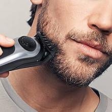 Long beard & hair clipping