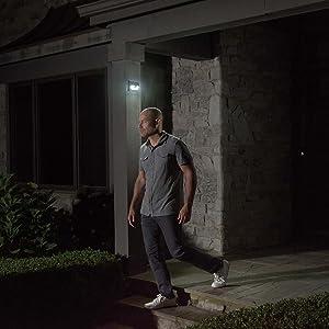 mr beams solar wedge light, solar wall light, led solar stair light, outdoor solar led spotlight