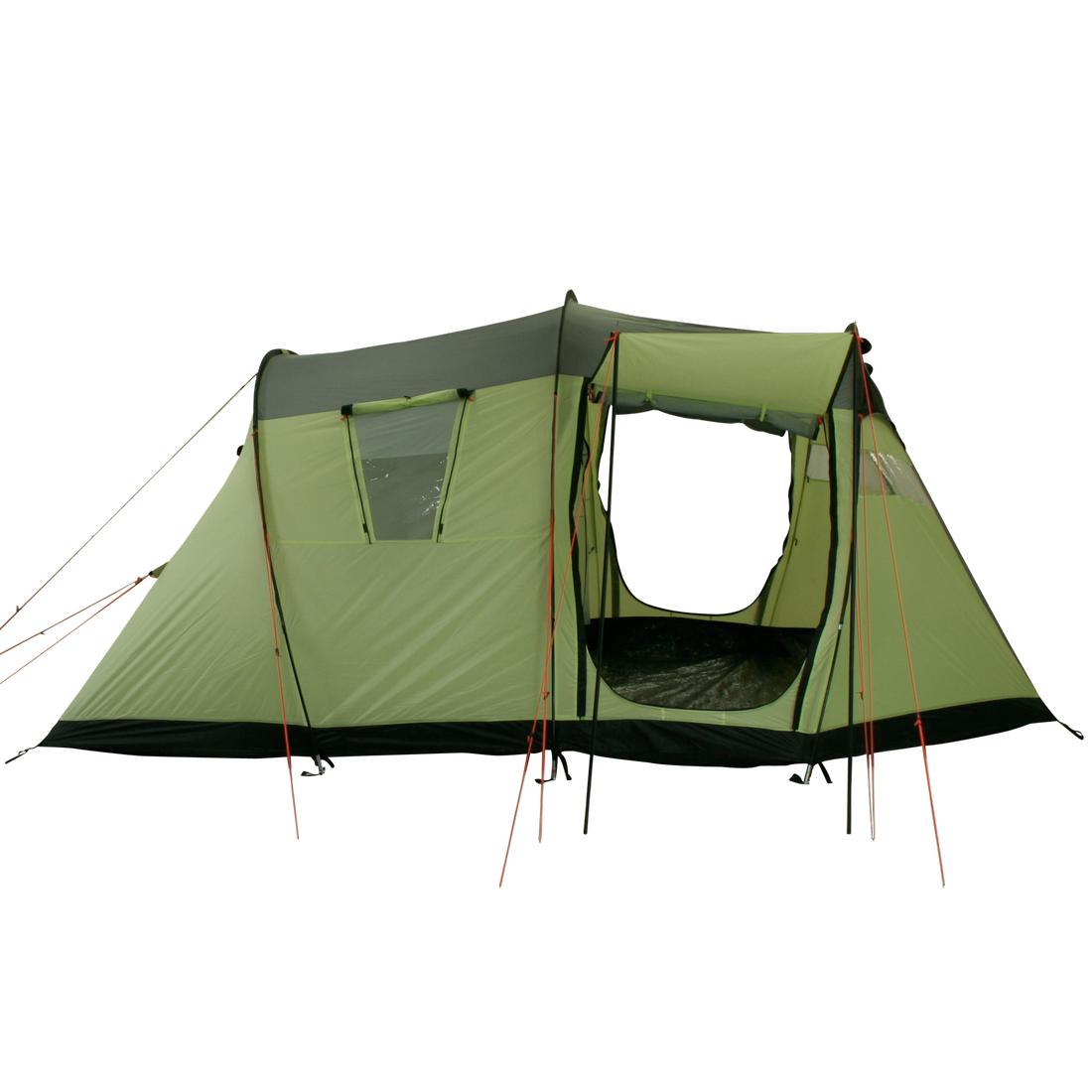 Zelt Wilton 4 : T camping zelt wilton tunnelzelt mit schlafkabine für