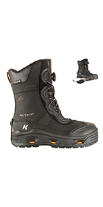 ice jack winter boots with interchangeable soles