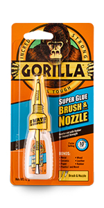 Gorilla Super Lijm Borstel & Nozzle